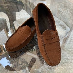TOD'S SUEDE FLAT LOAFERS!🤎🤎